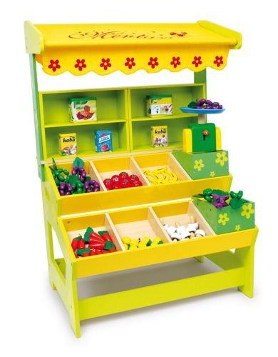 drewniany sklep owocowo warzywny do zabawy dla dzieci small foot design sklep dla dzieci. Black Bedroom Furniture Sets. Home Design Ideas