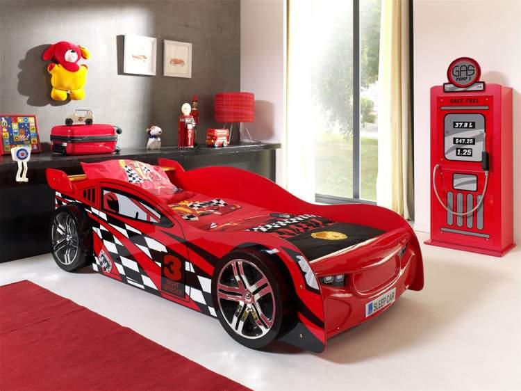 Ko auto samoch d night speeder ko dla dziecka for Lit voiture ikea