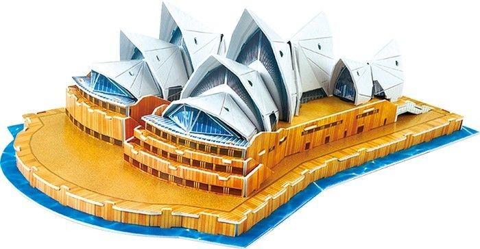 Puzzle 3d Sydney Opera House Kreatywna Uk Adanka Dla