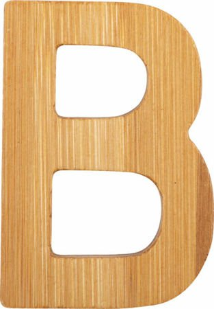 ABC Bamboo Letters B
