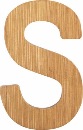 ABC Bamboo Letters S