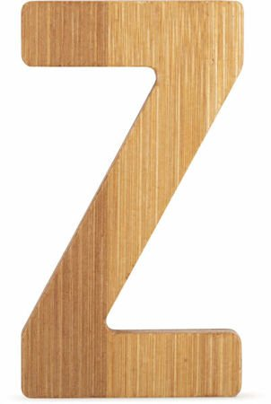 ABC Bamboo Letters Z