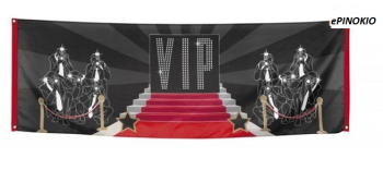 Baner VIP party 74 x 220 cm
