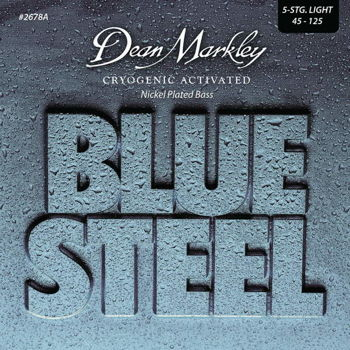 Dean Markley struny do gitary basowej BLUE STEEL NPS 45-125 5-str