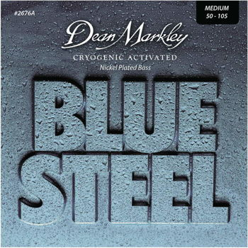 Dean Markley struny do gitary basowej BLUE STEEL NPS 50-105