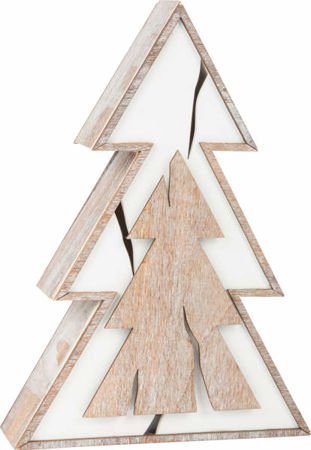 Decorative Wooden Santa
