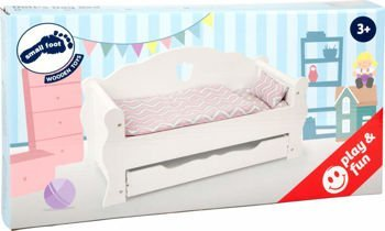 Doll's Day Bed, white