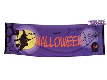 Girlanda Baner Halloween party 74 x 220 cm