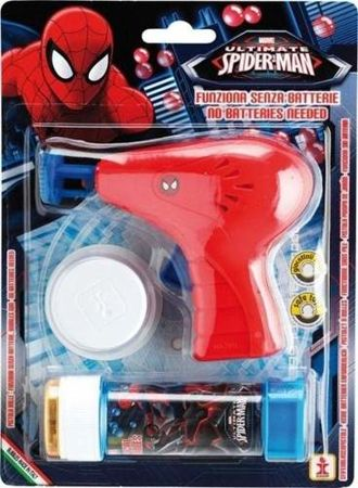 Pistolet do baniek mydlanych SpiderMan