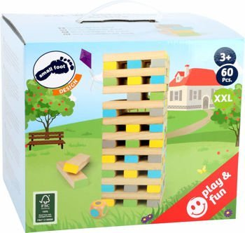 Wieża Jenga XXL Wobbly Tower Active
