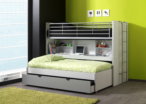 łóżko Piętrowe Dla Dzieci Bonny Wit