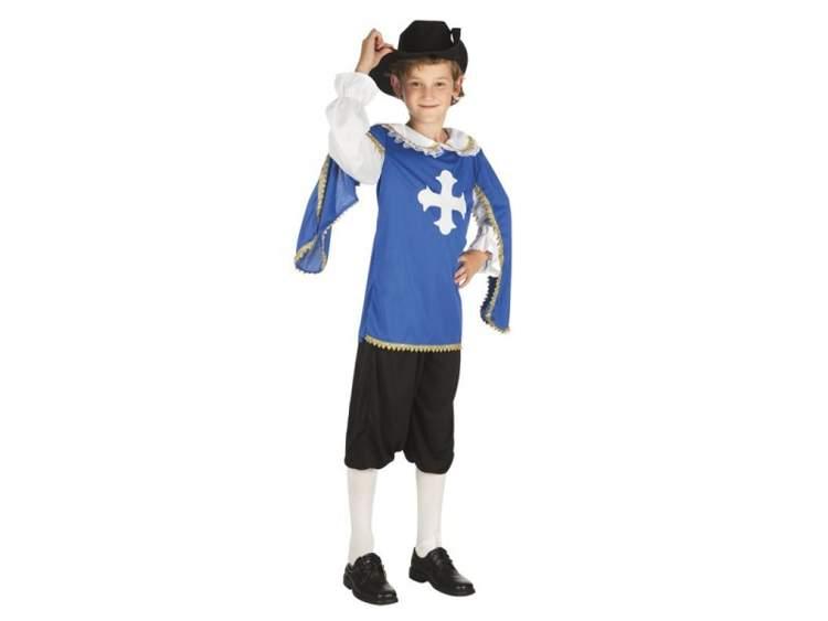 8186dc3728a1c3 Muszkieter Norbert od 10 do 12 lat kostium dla dzieci Aster | sklep dla  dzieci Epinokio.pl