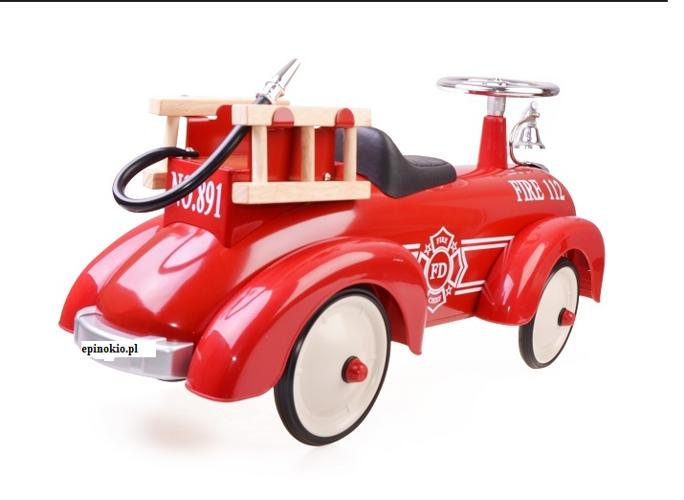 Modne ubrania Samochodzik jeździk dla dzieci- Straż pożarna GOKI | sklep dla HC27