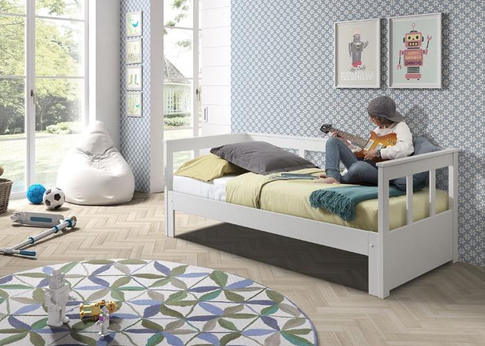 Sofa Pino Ii Białe Kapitańskie łóżko Dla Dzieci