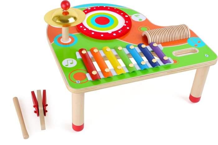 Stolik muzyczny dla dzieci, zabawka muzyczna, pomoce montessori