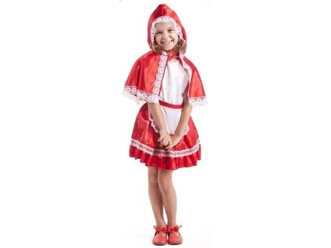 4028f5d2ce Strój Czerwony Kapturek Lux przebrania dla dzieci Aster