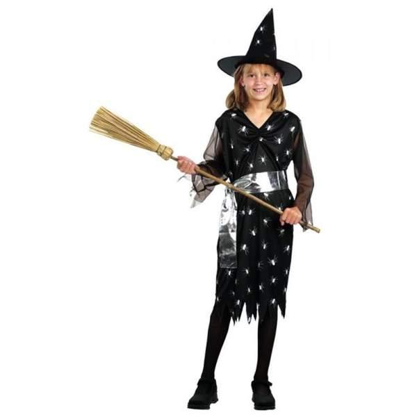 2efda77c9bb060 Strój na Halloween - Czarownica 10 - 12 lat, kostium/ przebranie dla dzieci,  odgrywanie ról Aster   sklep dla dzieci Epinokio.pl