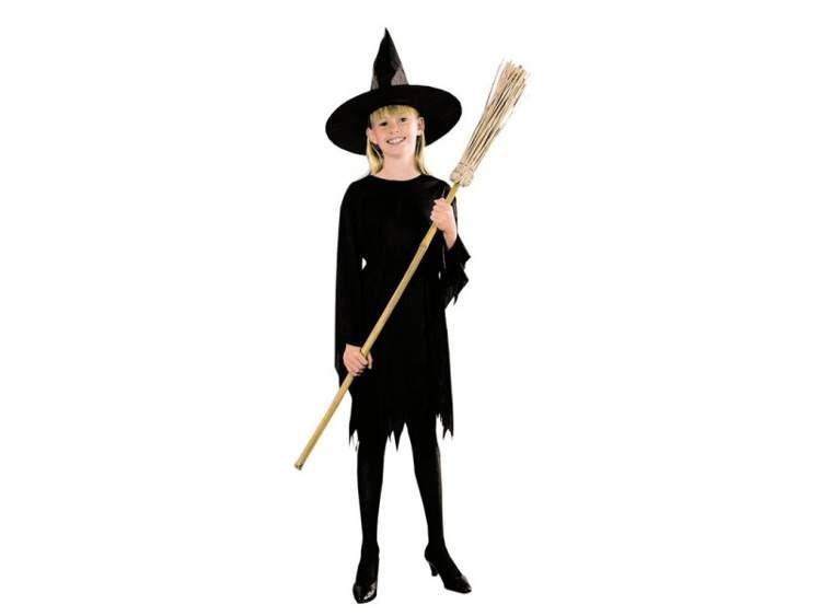 ea6899f99a18de Strój na Halloween Czarownica 10 do 12 lat, kostium, przebranie dla dzieci,  odgrywanie ról Aster   sklep dla dzieci Epinokio.pl