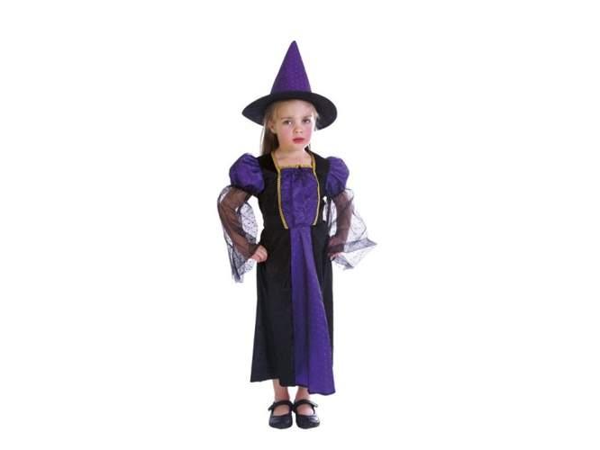77ae788a3b7376 Strój na Halloween Czarownica na Balu 3-4 lat, kostium dla dzieci Aster    sklep dla dzieci Epinokio.pl