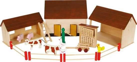 Gospodarstwo wiejskie - zabawki dla dzieci