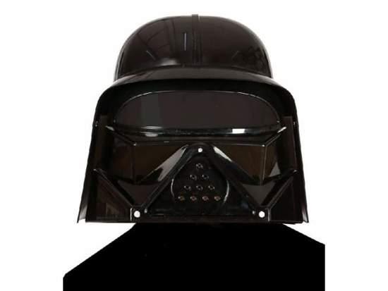 Kask Lord Vader + peleryna