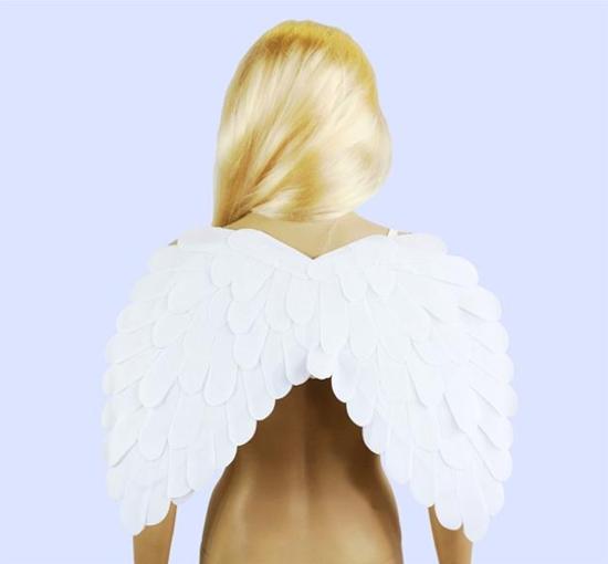 Skrzydła Anioła białe z piór