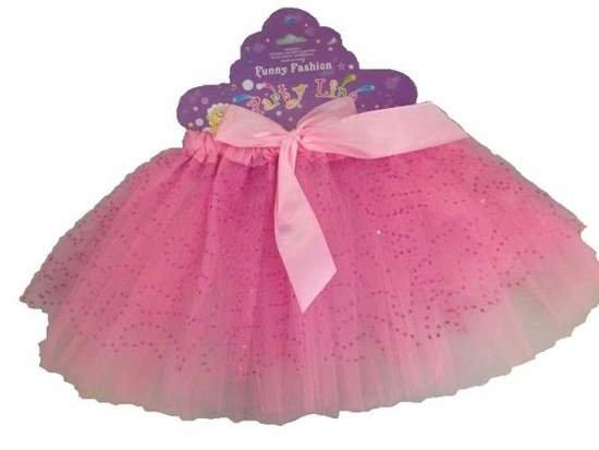 Spódniczka Baletnicy różowa z kokardką