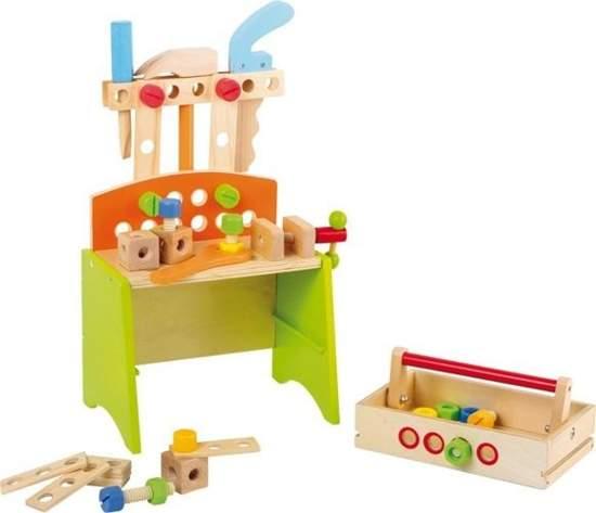 Warsztat z narzędziami do zabawy dla dzieci Deluxe