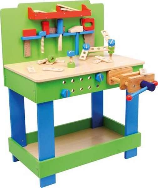 Warsztat z narzędziami do zabawy