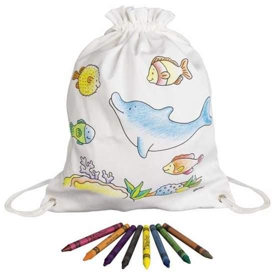 Worek do pokolorowania dla dzieci Ocean