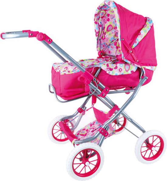 Wózek dla lalki Kwiat
